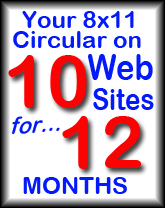 Your Circular in 10 websites for 12 months